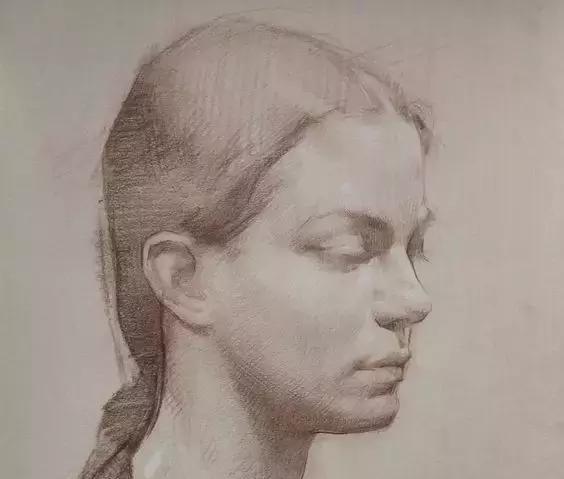 俄罗斯素描画家怎么处理素描关系 ART 第2张