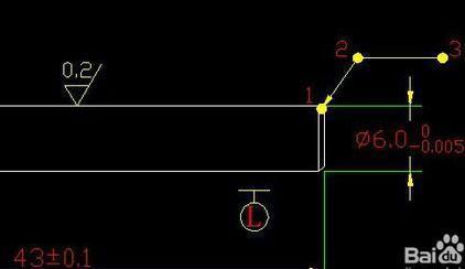 CAD中倒角的标注_360v倒角cad在里新建哪个文件夹模板图片