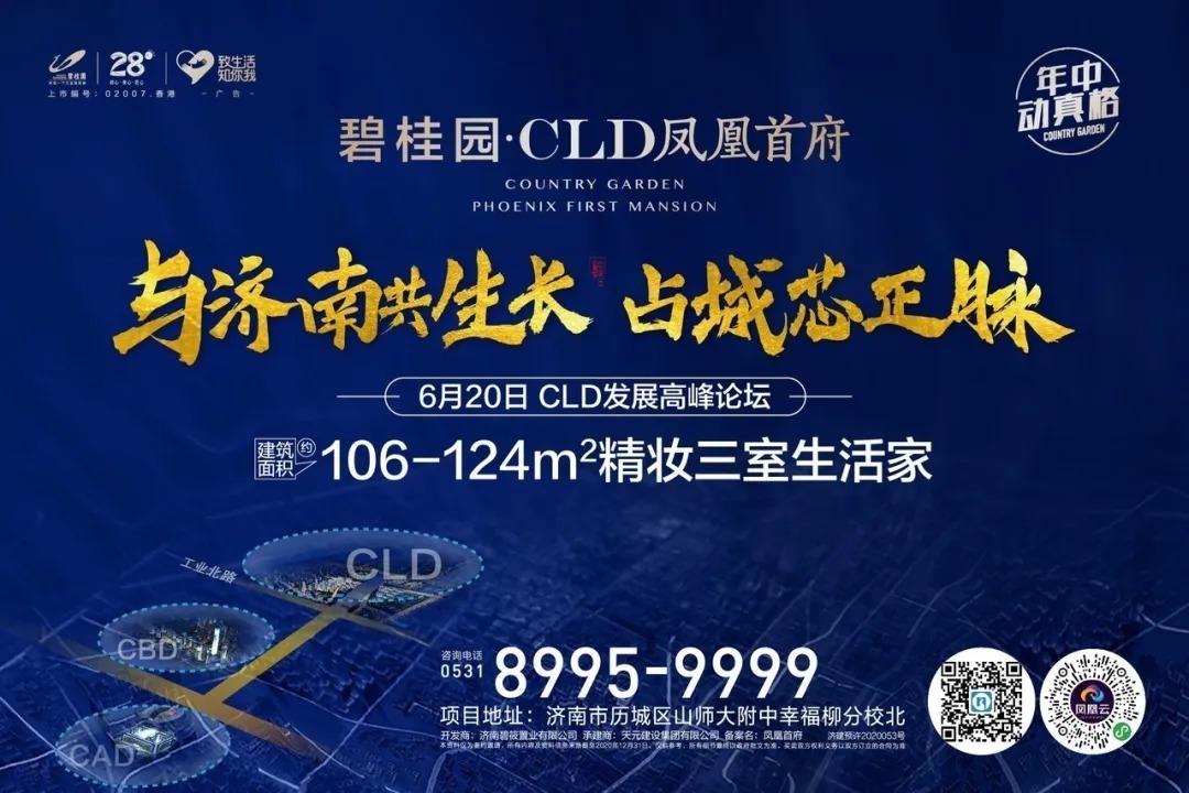 济南碧桂园CLD凤凰首府  CLD片区发展