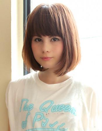 要齐刘越好发型内扣的女生女生短发海中越多短发齐耳图片酷发色图片