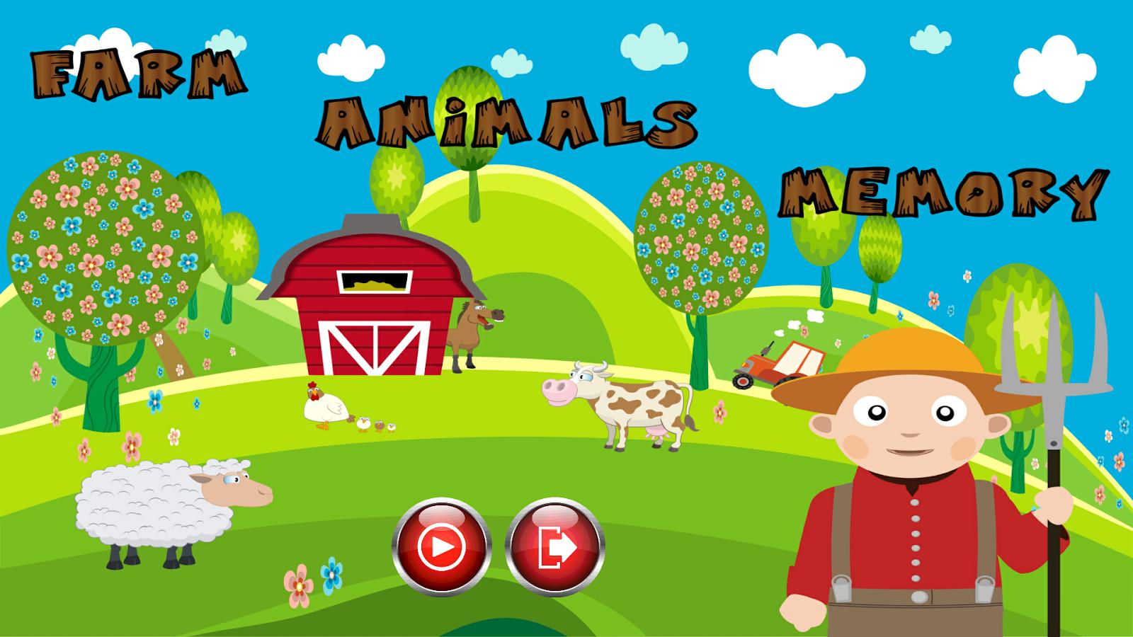 农场里的动物记忆下载