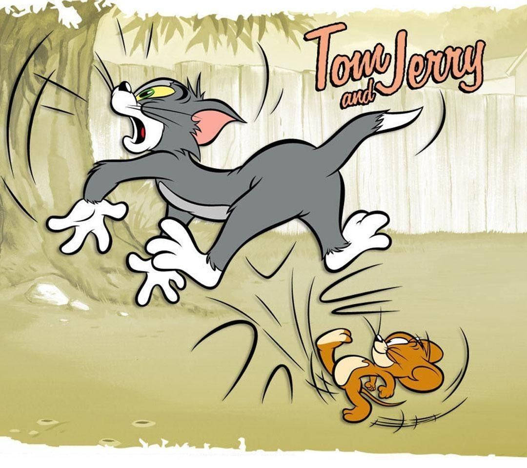 猫和老鼠2014桌面背景壁纸 汤姆杰瑞经典动画