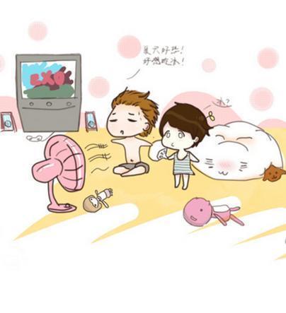 谁有exo灿烈伯贤的q版动漫萌图?