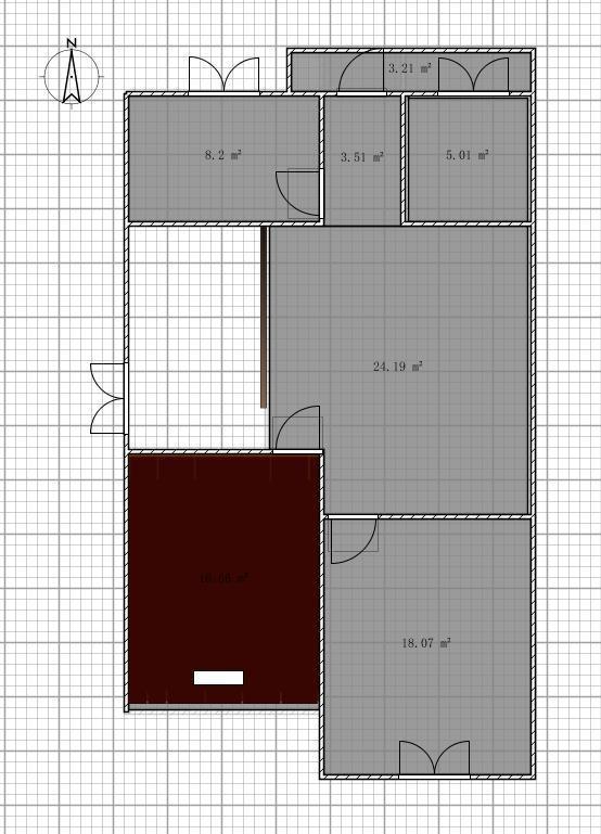 一百平方别墅平房房子设计图展示图片