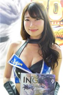 TGS东京电玩展Showgirl美照