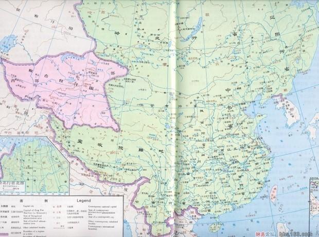 大元朝的地图最大的的中国古代地图