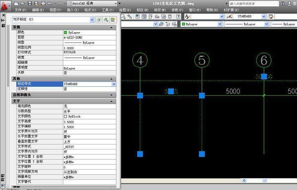 CAD把标注改掉的样式引出_360问答cad图头门图片