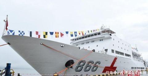 海军和平方舟医院船举行开放日活动