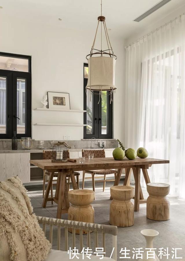 家居丨原木设计风农村,难得的质朴与浪漫六别墅度假别墅层图纸图片