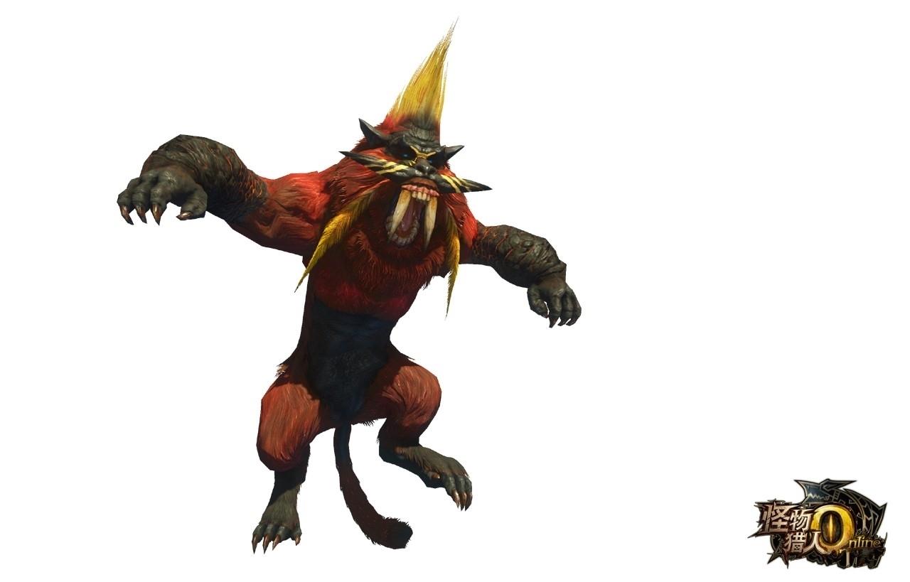 《怪物猎人OL》新怪物炎狮子介绍