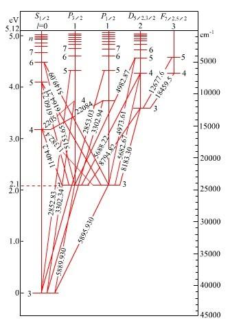 金属元素原子结构示意图