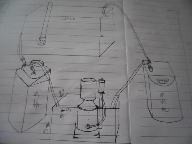 森森底滤鱼缸设计图