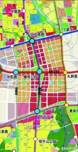 青岛轻轨r2线站点地图