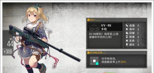 少女前线最强步枪推荐