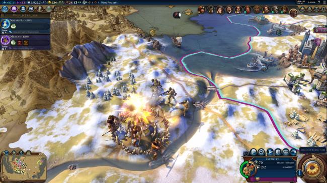 《文明6》被曝改游戏代码即可开启团队多人模式