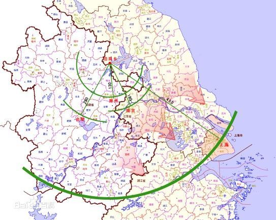 江苏在全国所处地理位置结构图