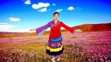 格格金曲优美藏族广场舞《西藏情歌》你美丽笑容倒映在纳木错