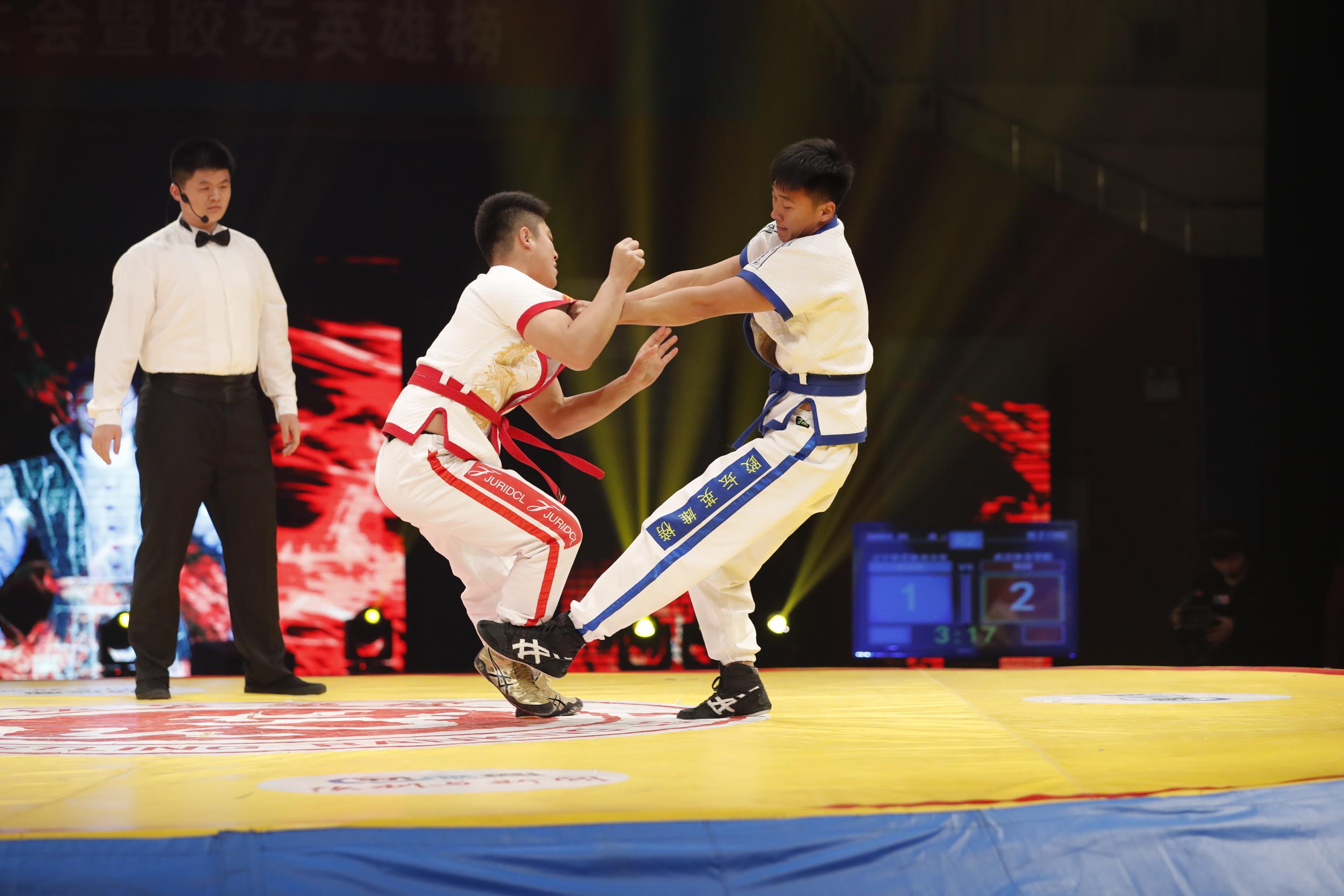 跤坛英雄榜第三轮第二场男子72kg