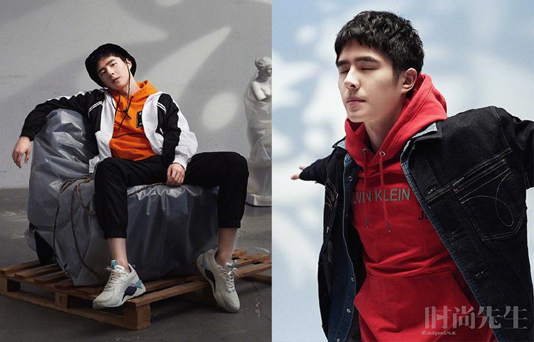 刘昊然时尚写真大片曝光,少年与雕像坚定又淡然