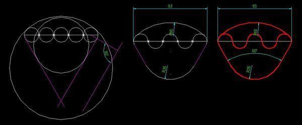 cad画图弧线和半径,已知中R35的半径和6cad标注长角度图片