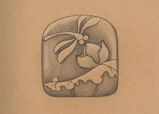 精美的玉雕手稿是怎么设计的
