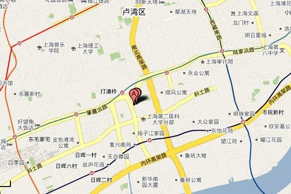 吴川塘缀合山地图
