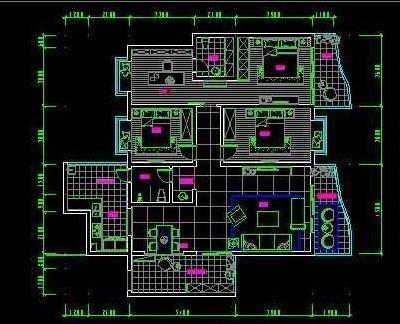 室内设计中的平面图中一般地板是怎么填充的?