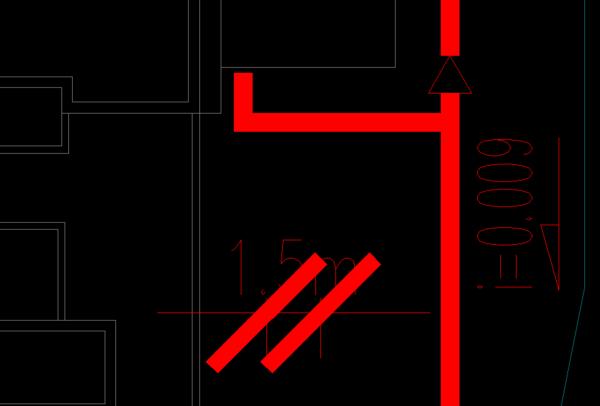 cad标注样式里的箭头大小,我想它变粗,但是又cad调用标准件图片