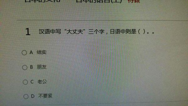 汉语中大丈夫,日语什么意思_360问答