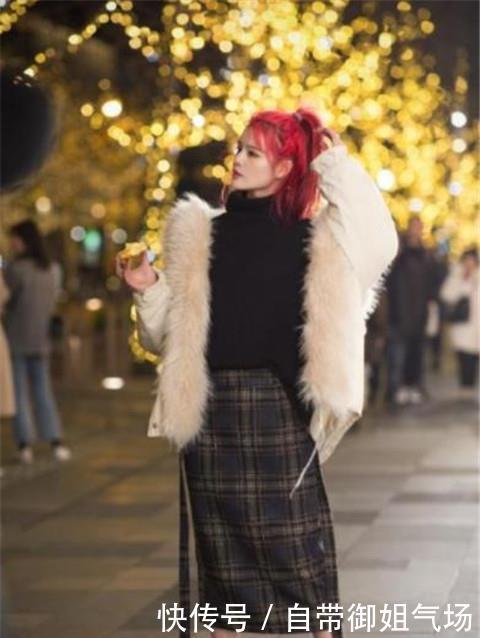 路人街拍,迷人性感的美女,淑女又俏皮同时有气场