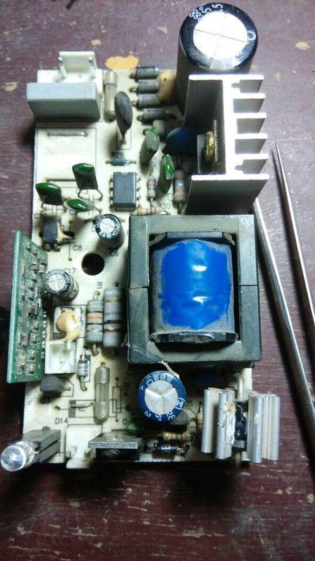 本人有次充电器输出短无电压!