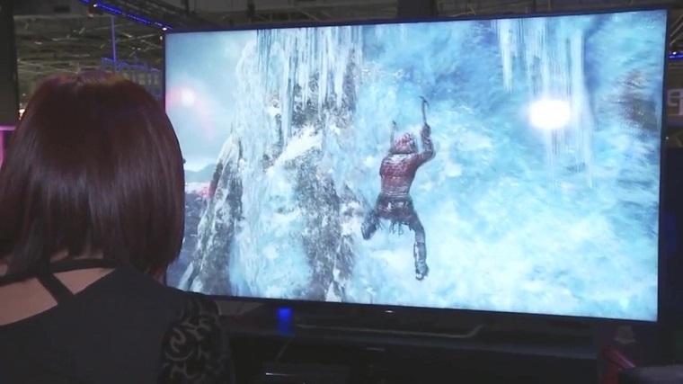 《古墓丽影:崛起》PS4 Pro版演示