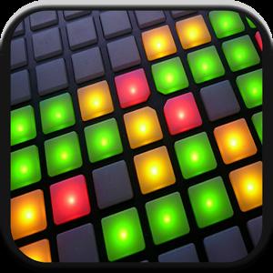 drum pads 绿色谱子