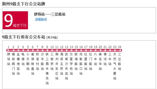 荆州69路公交车路线查询_360问答