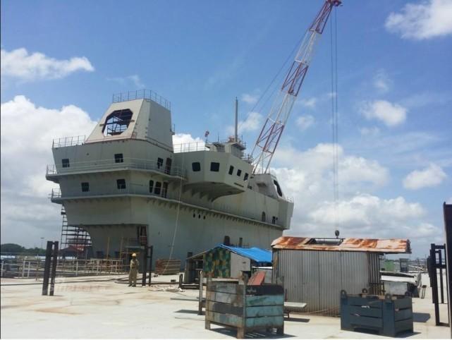 印度遭重创再次沦为单航母海军 中国挺进亚洲最强航母战斗力国家