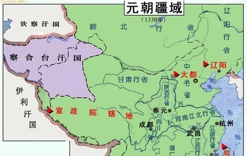 寻究中国历史:元朝是不是中国历史,成吉思汗到