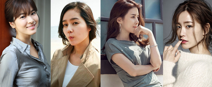韩国网友评十大美女 都是一等一的美人
