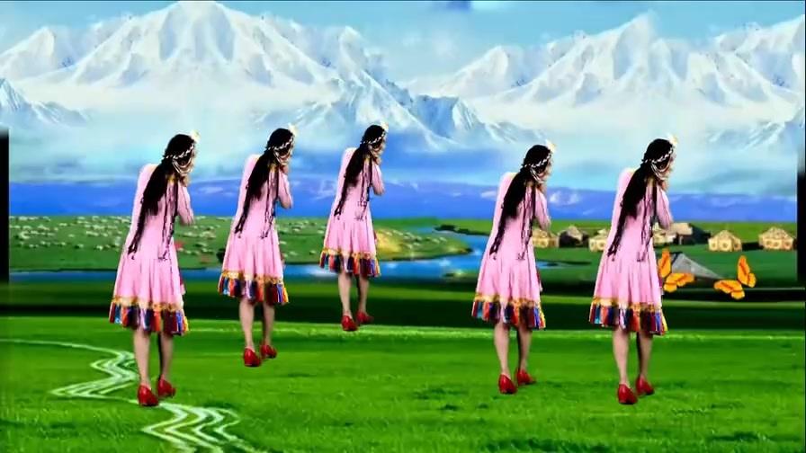天籁之音广场舞《桑吉卓玛》醇厚悠扬的歌声娓娓动听舞蹈简单好看