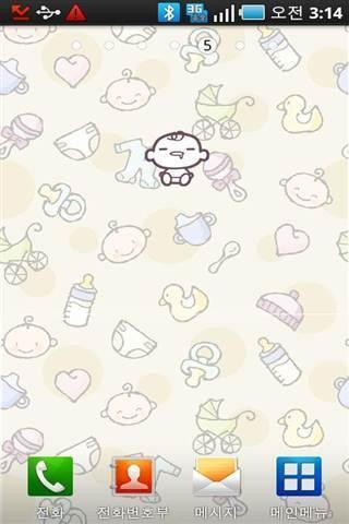 可爱宝贝动态壁纸_360手机助手