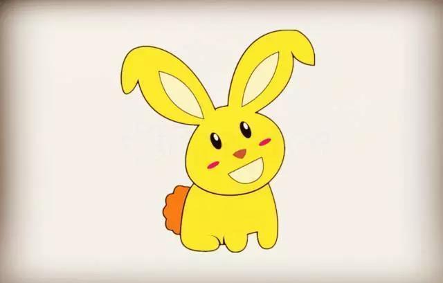 简笔画小兔子 025期