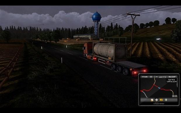 欧洲年级模拟2倒车开心?欧洲卡车倒车攻操作作文手把手一卡车图片