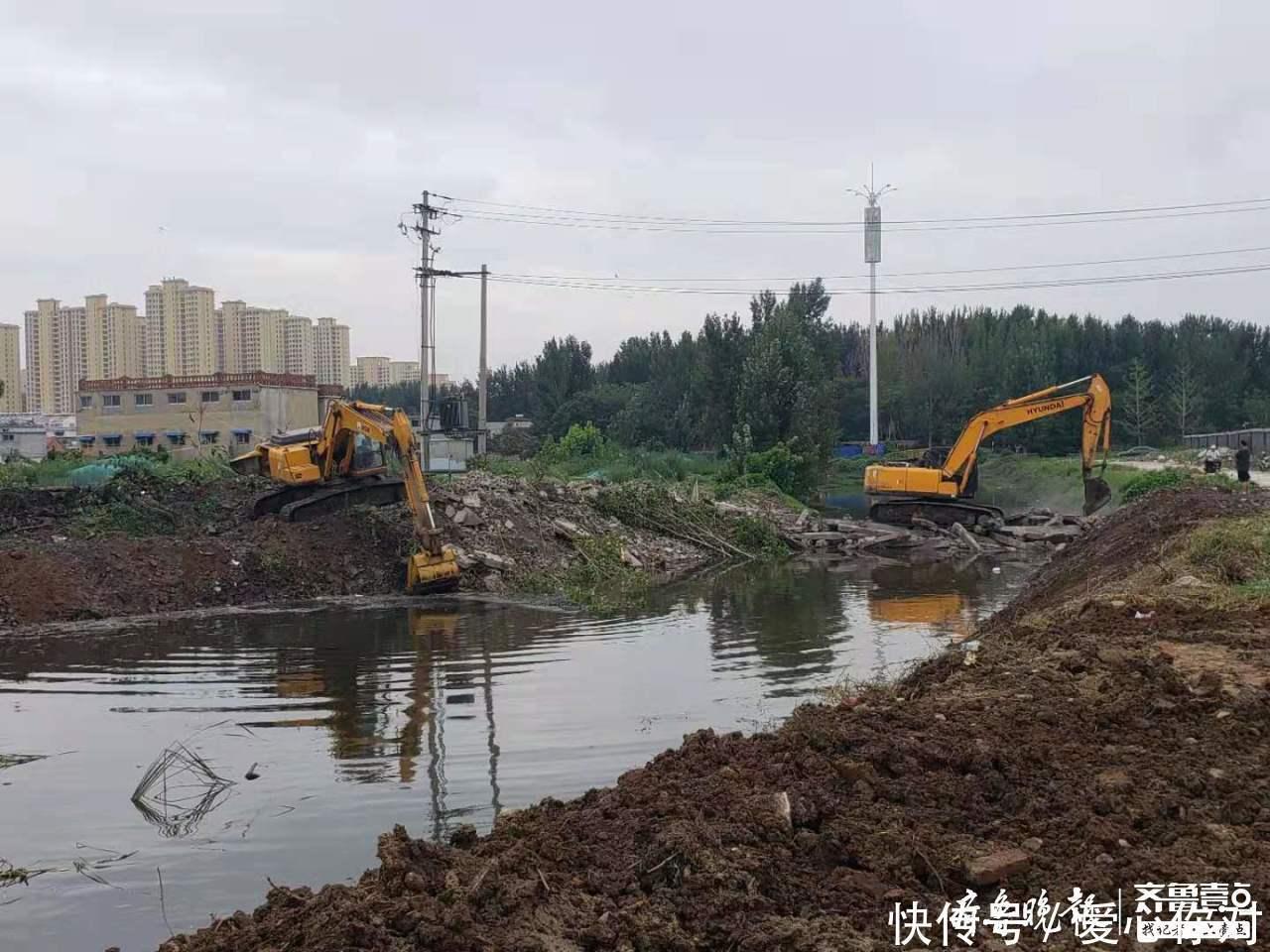 薛城区累计降雨量6956毫米,农田过水面积175万亩