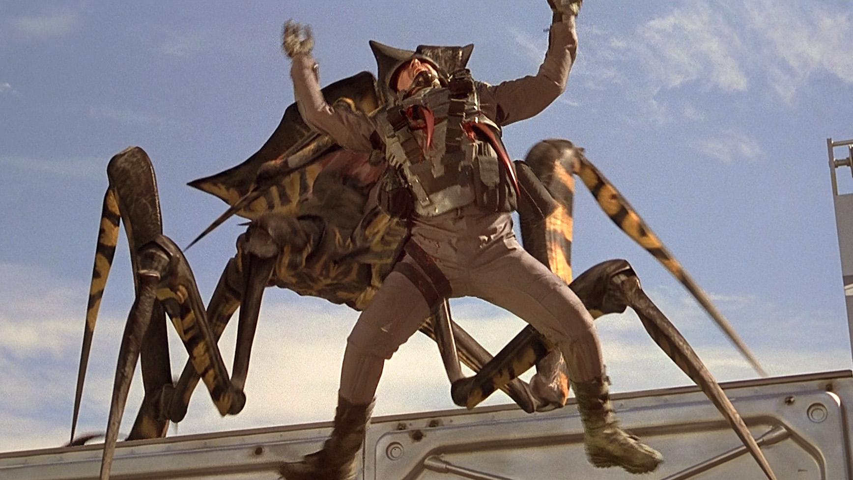 星际战争中人类被虫子秒成渣 6分钟看完科幻片《星河战队》