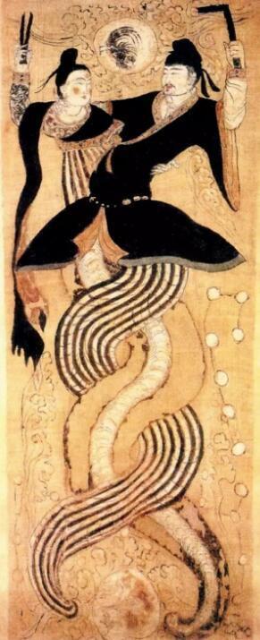 中华人文始祖伏羲创立八卦的