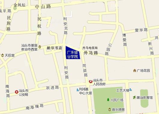 广东省汕头市外马路46号(市政府旁)