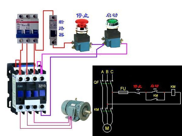 配电箱接线图视频教程_配电箱接线教程