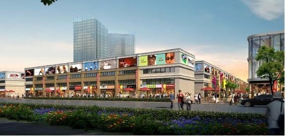 规划有批发市场区,产业孵化基地,企业总部区,滨水休闲区等八大功能