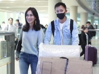 卢靖珊村姑造型现身机场,吊带搭配阔腿裙丑出新高度,韩庚会哭