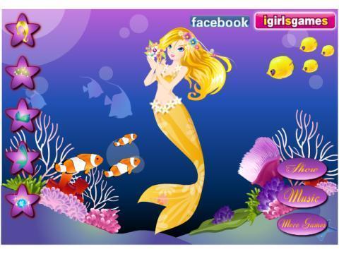 >海洋美人鱼