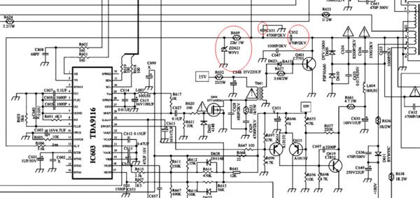 如何看懂彩电电路图